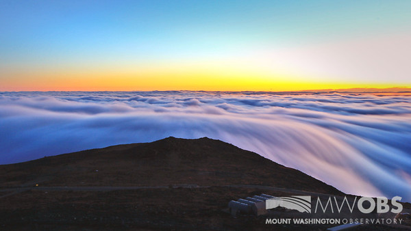 30 Second exposure of sunrise undercast.