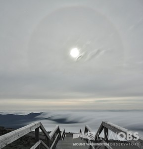 Moon Halo and Undercast